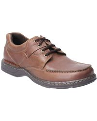 Hush Puppies Randall Ii Mens Lace Up Shoes - Brown