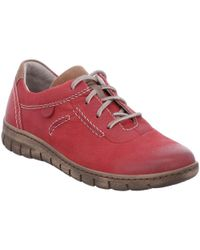 Josef Seibel Steffi 07 Womens Lace Up Shoes - Red