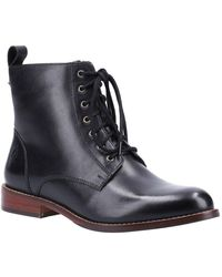 Hush Puppies Josie Womens Ankle Boots - Black