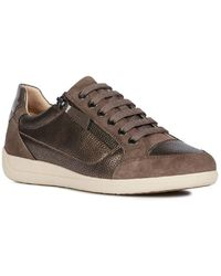 Geox D Myria A Womens Casual Trainers - Multicolour