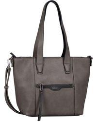 Gabor Inna Womens Shoulder Bag - Grey