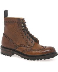 Cheaney - Tweed Mens Formal Lace Up Boots - Lyst