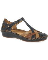 Pikolinos Vallarta Womens Casual Sandals - Blue