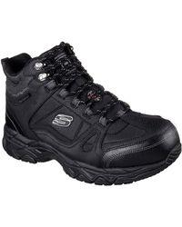 Skechers Ledom Mens Safety Boots - Black