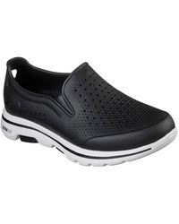 Skechers Go Walk 5 Easy Going Mens Slip On Shoes - Black