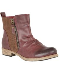Lotus - Fir Womens Casual Ankle Boots - Lyst