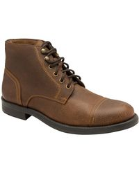 Frank Wright Lancelot Mens Ankle Boots - Brown