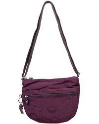Kipling Arto Womens Messenger Handbag - Purple