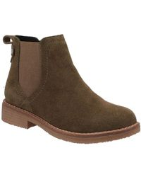 Hush Puppies Maddy Womens Chelsea Boots - Brown
