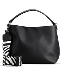 Clarks Cabana Park Womens Grab Bag - Black