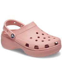 Crocs™ Classic Platform Womens Sandals - Pink