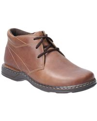 Hush Puppies Reggie Lace Mens Lace Up Boots - Brown