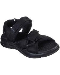Skechers Equalizer 4.0 Tlgous Mens Sandals - Black