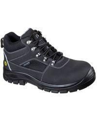 Skechers Trophus Letic Safety Boot - Black