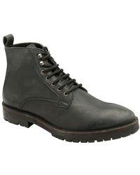 Frank Wright Frankel Mens Ankle Boots - Black