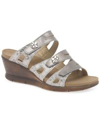Romika - Nevis 04 Womens Wedge Heel Sandals - Lyst