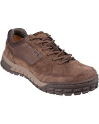 Caterpillar Sentinel Mens Casual Lace Up Shoes - Brown