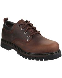 Skechers Tom Cats Mens Lace Up Shoes - Brown