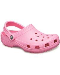 Crocs™ Classic Womens Mules - Pink