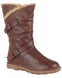 Lotus Jolanda Womens Boots - Brown