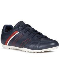 Geox U Wells B Mens Sneakers - Blue