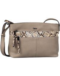 Gabor Dorie Womens Messenger Handbag - Multicolour