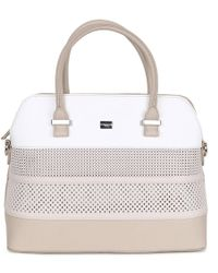 David Jones - Shore Womens Perforated Grab Bag - Lyst