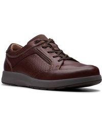 Clarks Un Trail Form Mens Casual Shoes - Brown