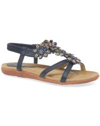 Charles Clinkard - Fiji Womens Casual Sandals - Lyst