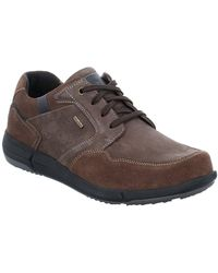 Josef Seibel Enrico 51 Mens Casual Lace Up Shoes - Brown