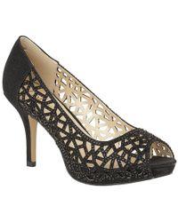 Lotus - Flink Womens Peep Toe Court Shoes - Lyst