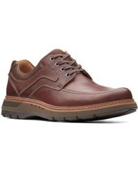 Clarks Un Ramble Lace Mens Casual Shoes - Brown