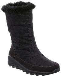 Romika Nina Ladies Waterproof Suede Look Ankle Boot