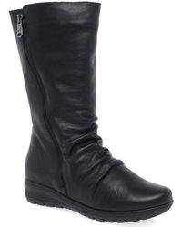 Paula Urban Vitality Womens Calf Length Boots - Black