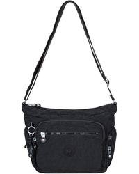 Kipling Gabbie Womens Messenger Handbag - Black