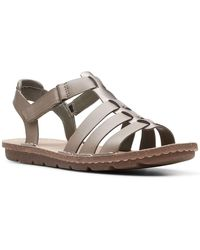 Clarks Blake Jewel Womens Strappy Sandals - Multicolour