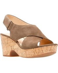 Clarks - Maritsa Lara Womens Wedge Sandals - Lyst