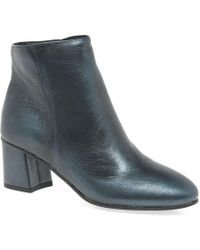 Bata - Farringdon Womens Block Heel Ankle Boots - Lyst
