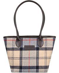 Barbour - Dee Tartan Womens Shoulder Bag - Lyst