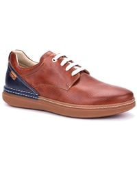 Pikolinos Begur Mens Casual Lace Up Shoes - Red