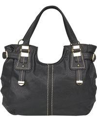 Lotus Midler Ladies Large Black Handbag 1254