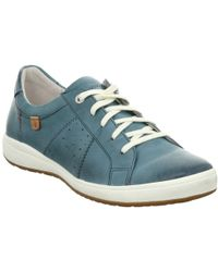 Josef Seibel Caren 01 Womens Casual Trainers Women's Shoes (trainers) In Blue