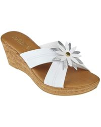 Lotus - Japonica Womens Wedge Heel Sandals - Lyst
