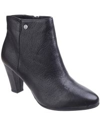 Hush Puppies - Morning Meaghan High Heeled Ankle Boots - Lyst