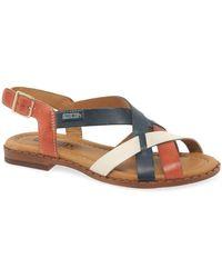 Pikolinos Algar Womens Sandals - Multicolour