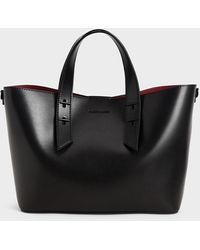 Charles & Keith Double Handle Hobo Bag - Black