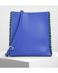Charles & Keith - Whipstitch Trim Tote Bag - Lyst