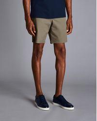 Charles Tyrwhitt Cotton Chino Shorts - Green