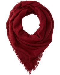Charlotte Russe - Woven Blanket Scarf - Lyst