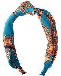 Charlotte Russe - Printed Twist Headband - Lyst